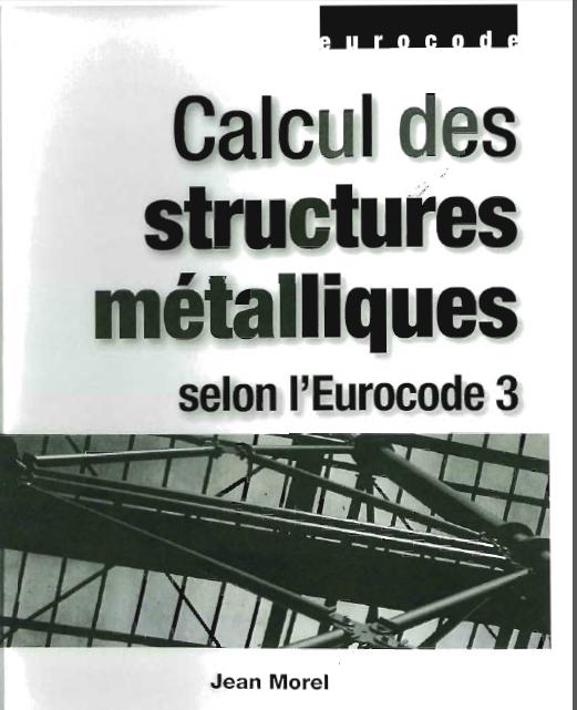eurocode -  Calcul des structures métalliques selon l'Eurocode 3 par jean Morel  1