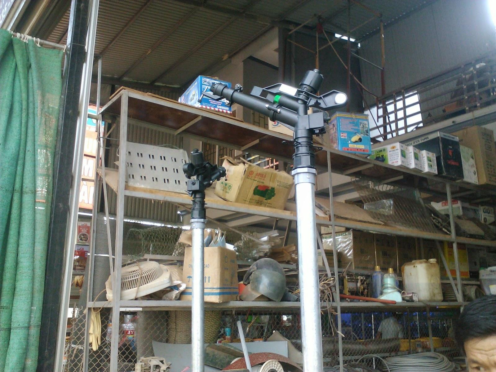 hệ thống tưới chè tự động ở Tân Cương
