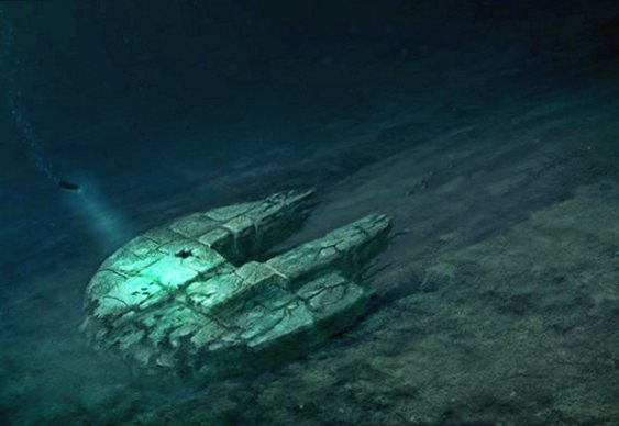 Arquivos Extraterrestres - OVNIS no fundo do mar