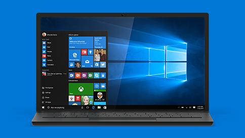 تحميل وتثبيت النسخة النهائية من ويندوز 10 مجاناً بدون فقد أية ملفات علي حاسوبك