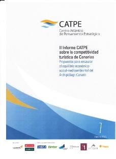 II Informe CATPE SOBRE LA COMPETITIVIDAD TURÍSTICA DE cANARIAS