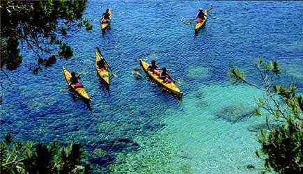 Kayak à Bouillante en Guadeloupe
