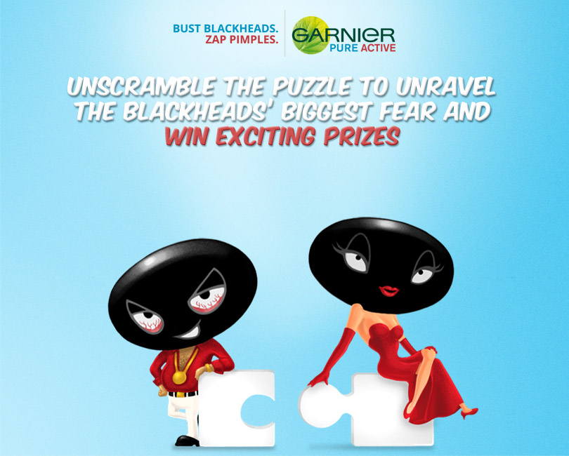 Blackheads biggest fear contest win exciting prizes