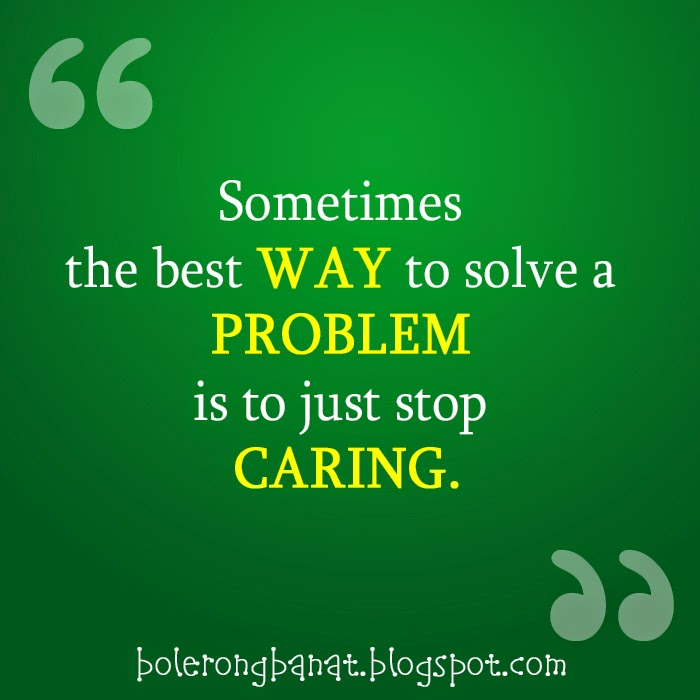 the best way to solve a problem