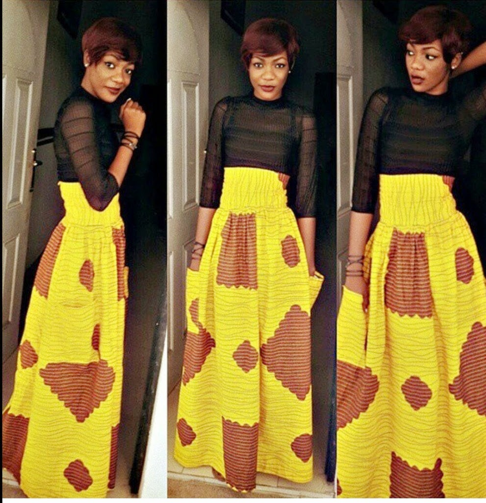 Skirt And Blouse Sew With Ankara 74