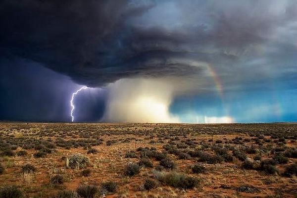 Giant tornado