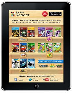 The Ruckus Reader app