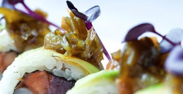 Ikibana, sushi