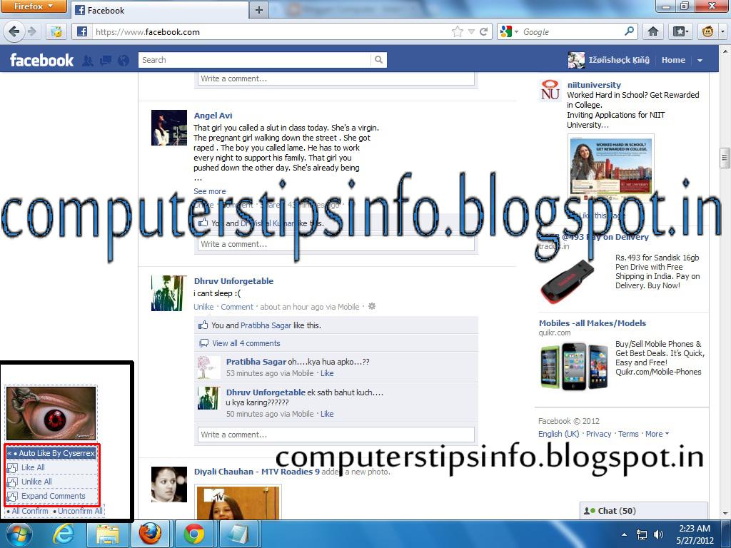 facebook chat downloader firefox