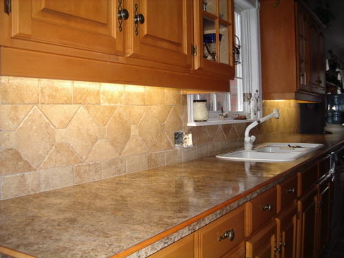 Stone Back Splash