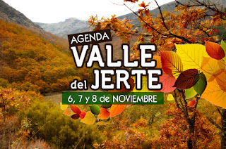6 a 8 de noviembre: eventos en el Valle del Jerte