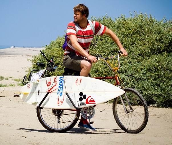 Storeyourboard Blog Dane Reynolds Bike Surfboard Rack