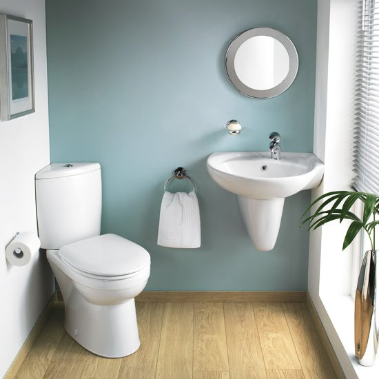 Tolis inredning g r din toalett mysig - Bathroom ideas for small spaces uk style ...
