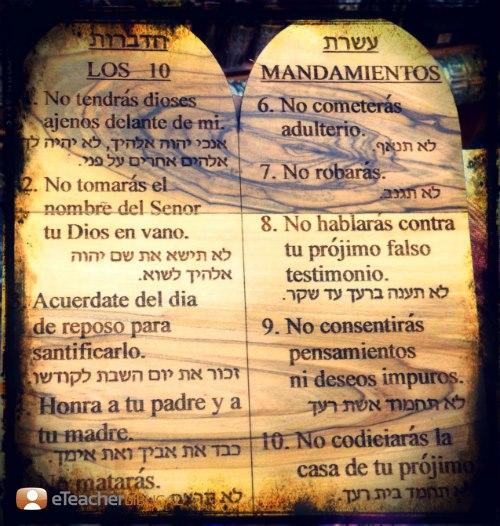 Los diez mandamientos relisabinas - Los 10 locos mandamientos ...