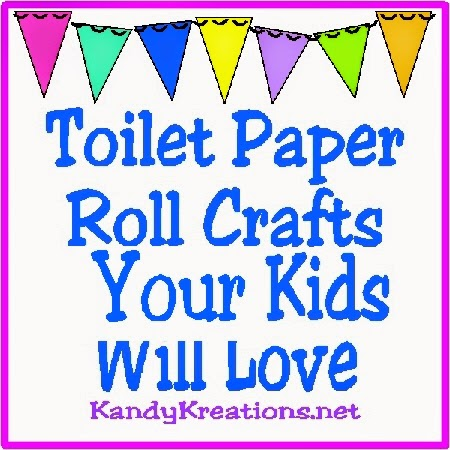 10 Toilet Paper Roll Crafts You're Kids Will Love