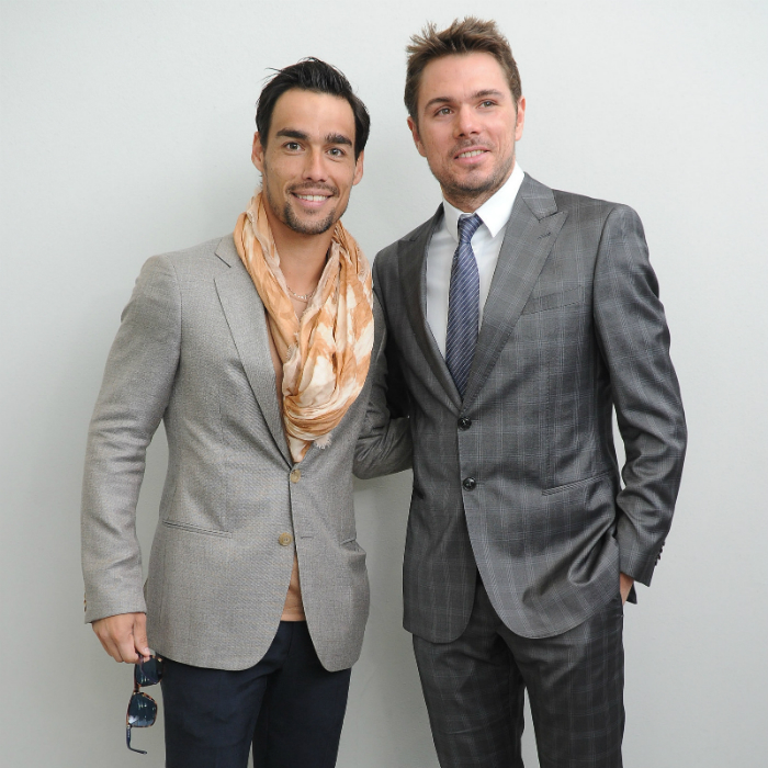 Fabio Fognini and Stanislas Wawrinka • Tennis Players