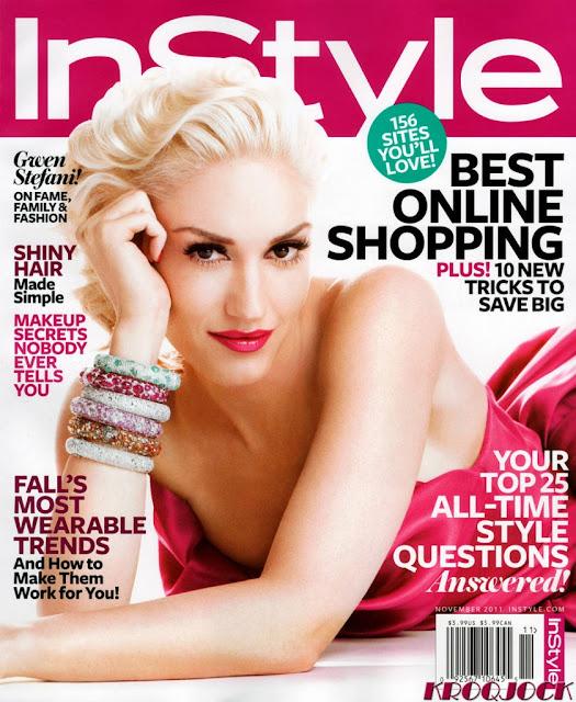 Gwen Stefani Instyle US Magazine November 2011