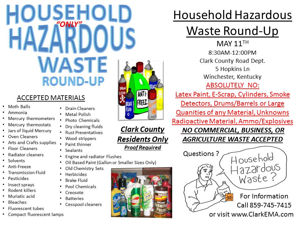 hazardous household products fact sheet Hazardous household product recycling & disposal in your city or town  ask  your supplier for a material safety data sheet or hotline for the product look for.