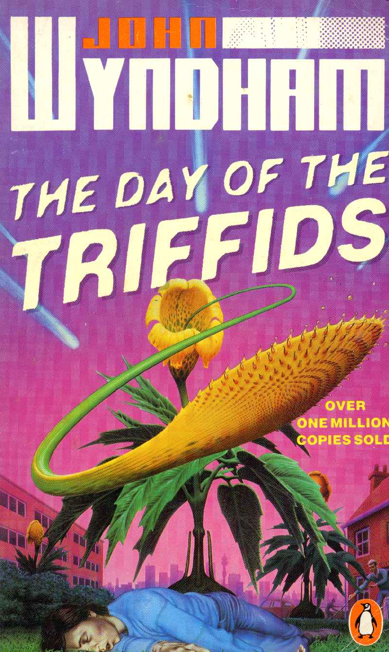 day of triffids The day of the triffids is often considered a 'cosy catastrophe' where people of britain fret about the end of the world while sitting around and drinking tea it.
