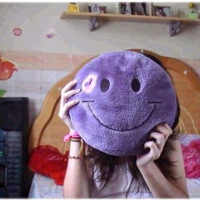 Girl hide face dp