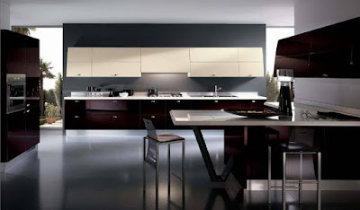 Modern kitchen design, kitchen design, interior design