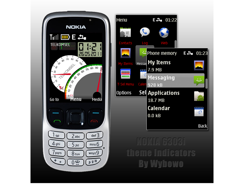 Download Theme Nth Nokia Asha 210 Black Map | New Calendar Template ...