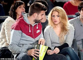 Shakira fener maçında