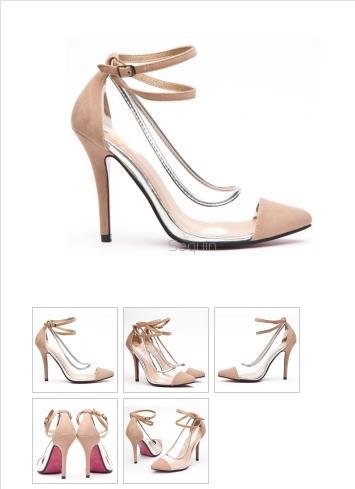przezroczyste buty