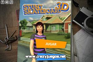Jugar Stunt Skateboard 3D