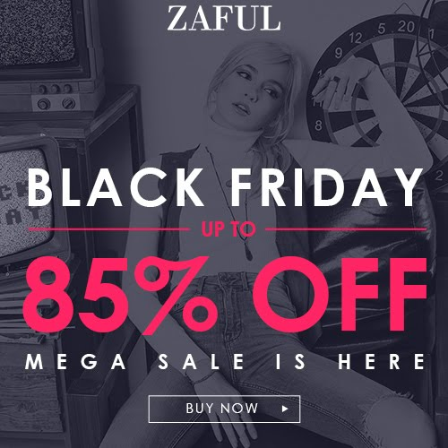 Zaful :Black Friday 2016