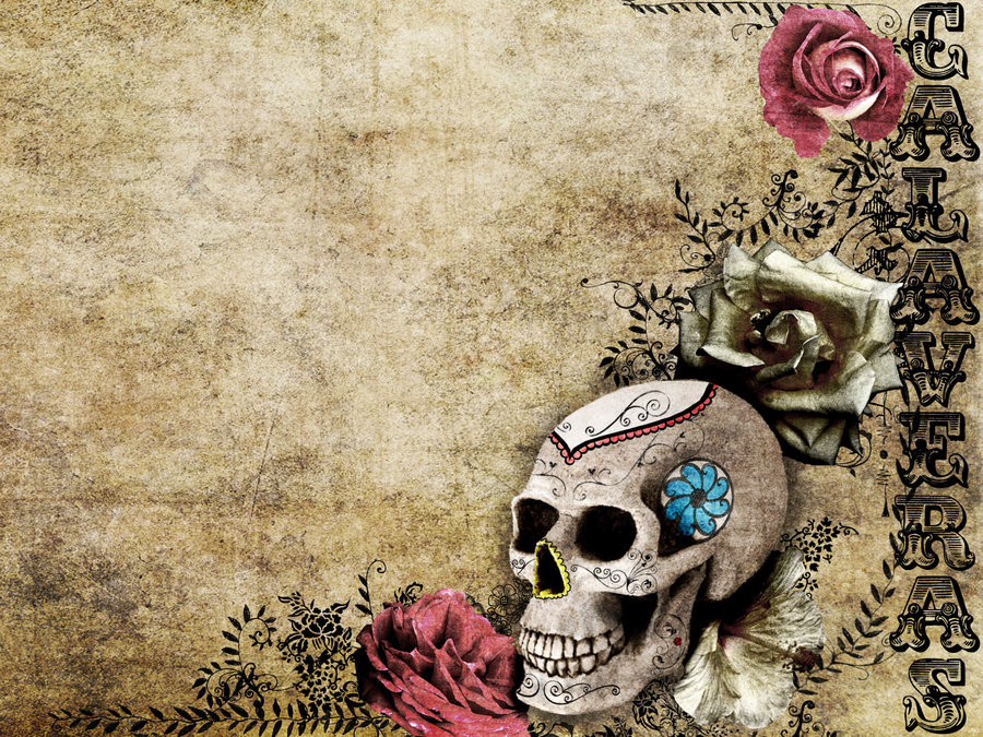 Calaveras mexicanas wallpaper - Imagui