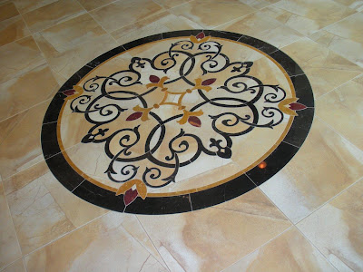 decorative-marble-granite-medallion