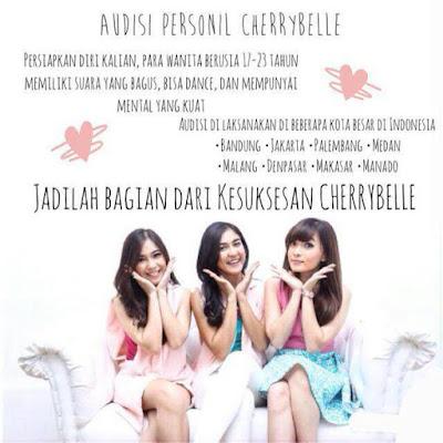 Audisi Cherrybelle 2015