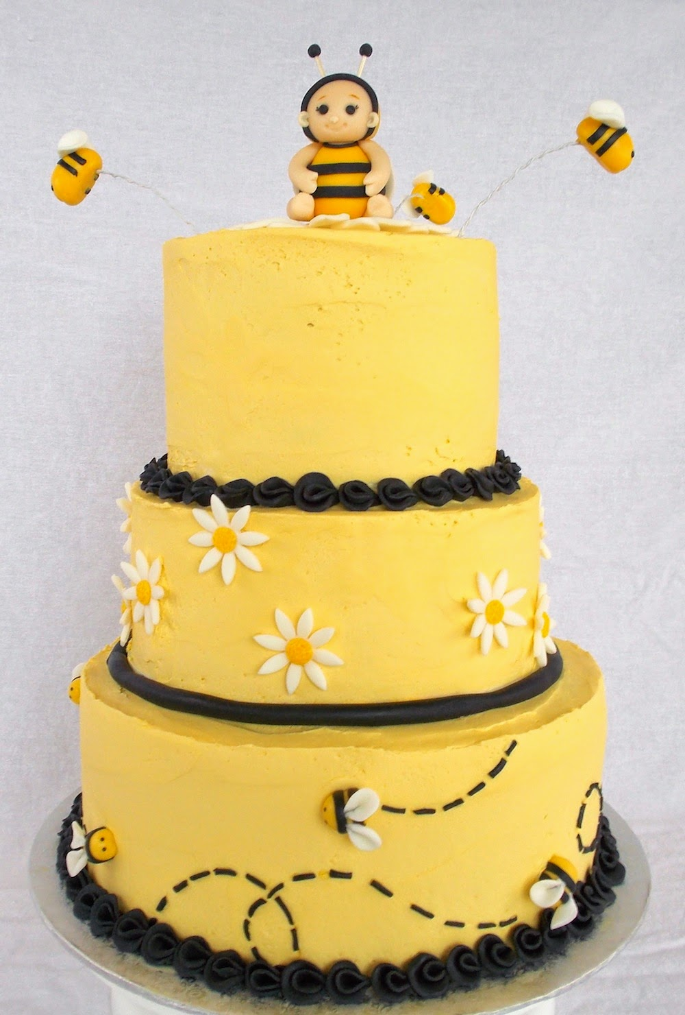 custom cakes by lori bumble bee baby shower cake