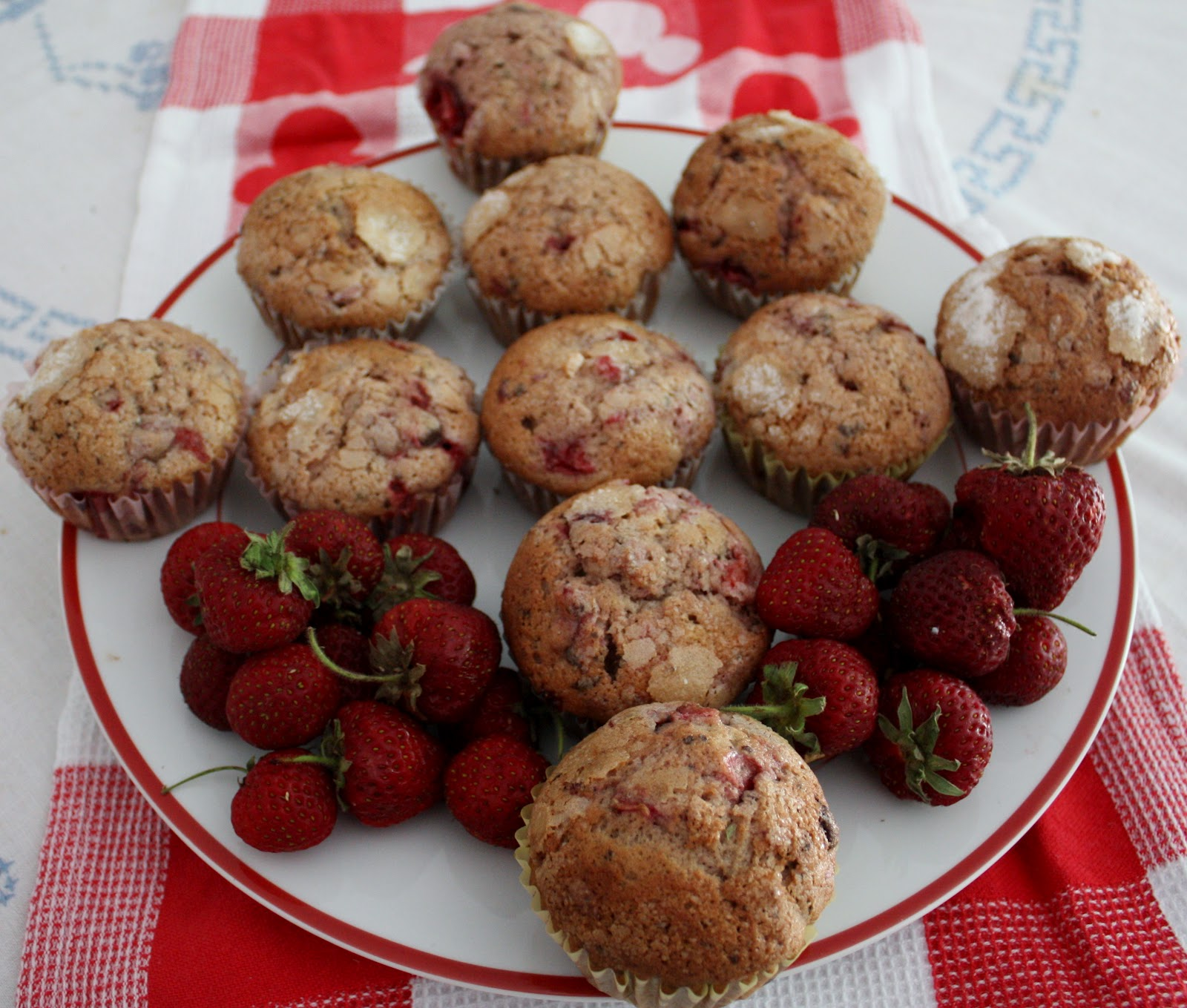 Best of Long Island and Central Florida: Strawberry Muffins