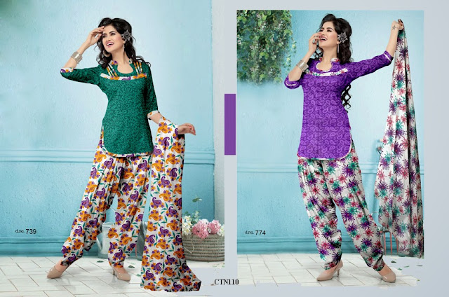 Latest cotton Printed Dress Material,Cotton Dress Material Online,New Arrival Patiyala Style Cotton Dress Material