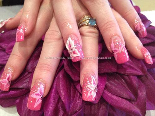 15 Cute Acrylic Nail Art Designs Gallery 4
