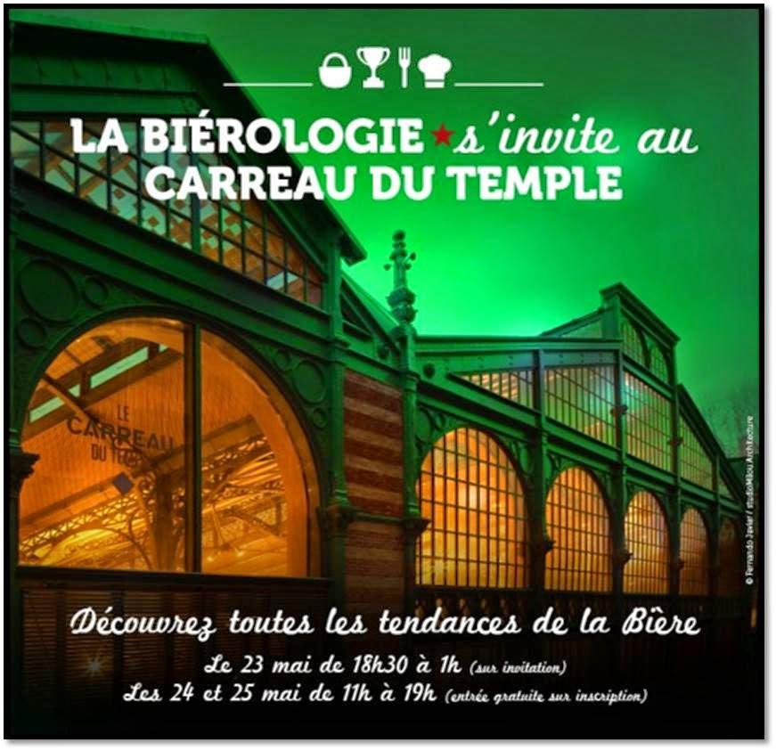 biérologie gastronomie bistrologie tendance bière Heineken Paris Carreau Du Temple hipster
