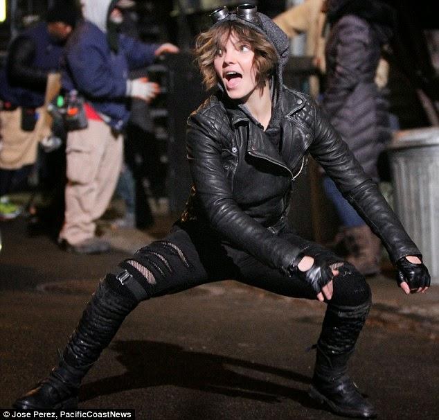 """Camren Bicondova es Selina Kyle / Catwoman en la serie """"Gotham"""""""