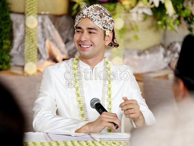senyuman Raffi Ahmad usai Ijab Qabul