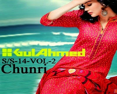 Gul Ahmed Chunri Lawn Summer Dresses