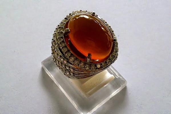 Harga Batu akik Bacan Obi Kuning Kristal