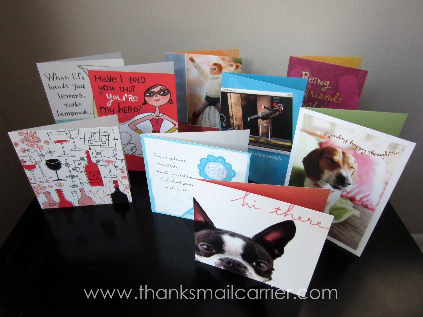Thanks Mail Carrier Shower Them With Love With Hallmark