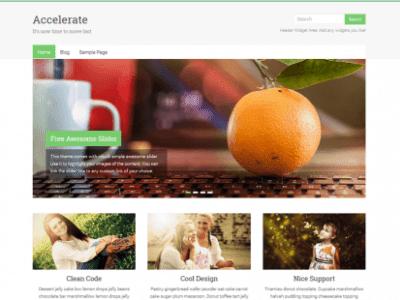 Accelerate WordPress Theme