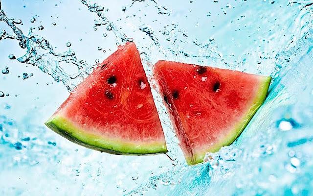 Resultado de imagen de frutas con agua