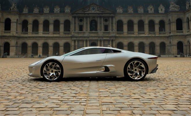 Jaguar C X75 Concept In Paris