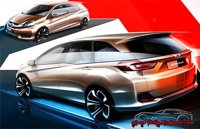 new car launches of hondaHondas First MPV Mobilio  slamber nyowo