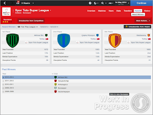 FM14 Turkish Fair Play Award