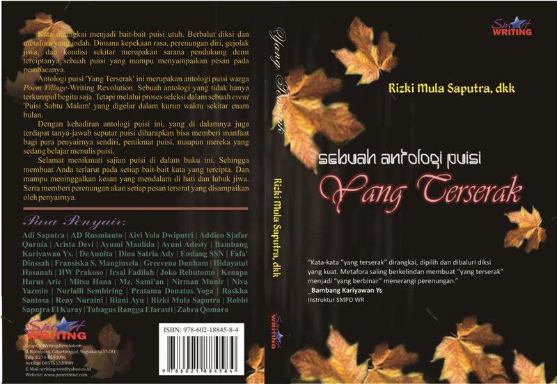 Cover+Yang+Terserak+oke Buku Puisi YANG TERSERAK