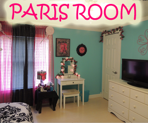 Paris Room Makeover